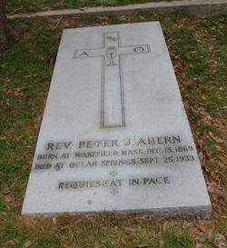 Rev Peter J. Ahern