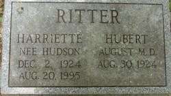 Harriette <i>Hudson</i> Ritter