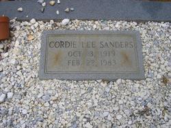 Cordie Lee Sanders