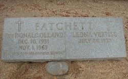 Rev Donald Olland Fatchett