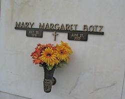 Mary Margaret <i>Barron</i> Botz