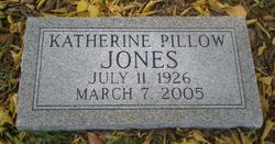 Katherine <i>Pillow</i> Jones