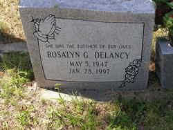 Rosalyn G Delancy