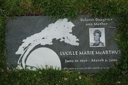 Lucille Marie McArthur
