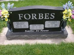 Ada Janet <i>Bennett</i> Forbes