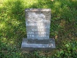 Margeret B. Maggie <i>Logan</i> Cadle