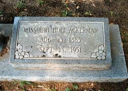Missouri <i>Hoff</i> Ackerman
