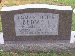 Emma R. <i>Foster</i> Bedwell