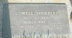 Lowell Sherbert