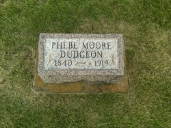 Phebe <i>Moore</i> Dudgeon