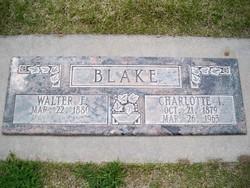 Charlotte Isabell <i>King</i> Blake