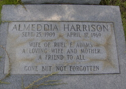 Almeddia <i>Harrison</i> Adams