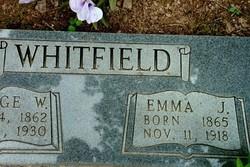 Emily J Emma <i>Moore</i> Whitfield
