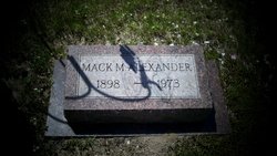 Mack M. Alexander
