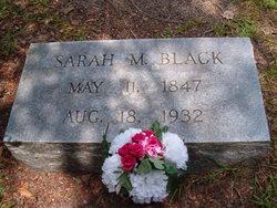 Sarah M Black