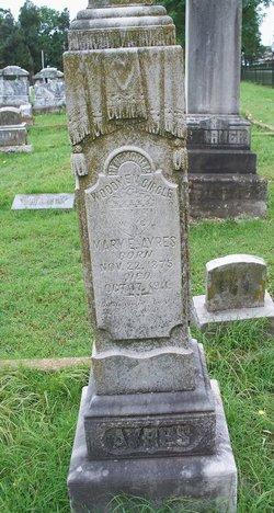 Mary Evelyn <i>Boatright</i> Ayres