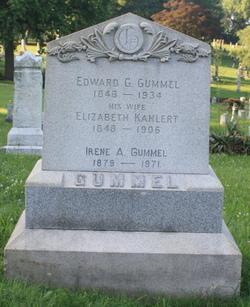 Elizabeth <i>Kahlert</i> Gummel