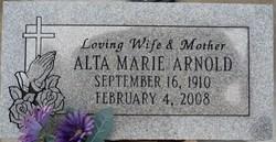 Alta Marie Arnold