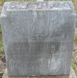 Infant Son Blackburn