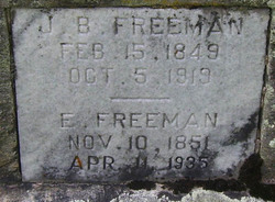 Elizabeth <i>Ashworth</i> Freeman