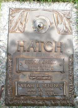 Sarah Elvira <i>Schenck</i> Hatch