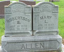Mary L. <i>Finley</i> Allen