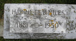 Harriet Potter <i>Baum</i> Niles