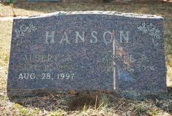 Annie Elizabeth <i>Hendricks</i> Hanson