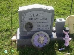 Letha Kay Louise Slate