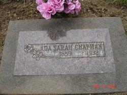 Ada Sarah Chapman