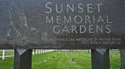 Sunset Memorial Gardens
