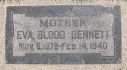 Eva Colemere <i>Blood</i> Bennett