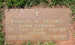 PFC Barron Allen Frazier