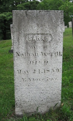 Sarah <i>Thompson</i> Averill