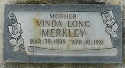 Vinda Ann <i>Long</i> Merkley