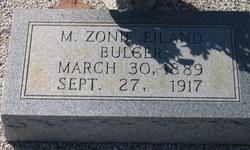M. Zonie <i>Eiland</i> Bulger