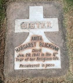 Sr Anita Margaret Agnes Blickhan