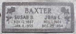 Susan Bailey <i>Brown</i> Baxter