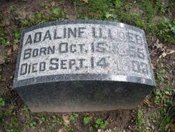 Adaline U Loeb
