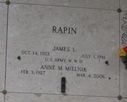 James L Rapin