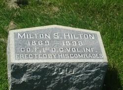 Pvt Milton S. Hilton