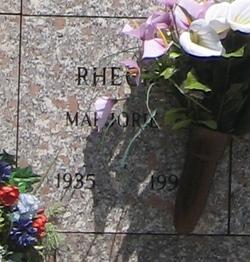 Marjorie Rheome