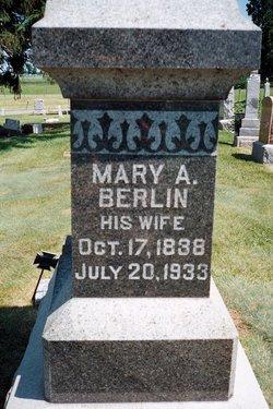 Mary A. <i>Berlin</i> Winder