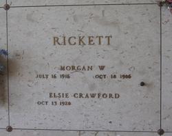 Morgan W Rickett