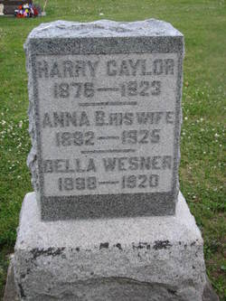 Anna B. <i>Hensley</i> Caylor