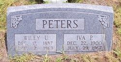 Wiley Ulyssus Peters