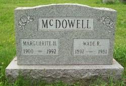 Marguerite H. <i>Amheiser</i> McDowell