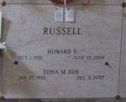 Howard E Ned Russell