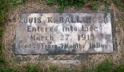 Louis Kaiser Ballinger, Sr