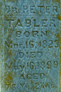 Dr Peter Tabler